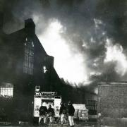 Woollies fire